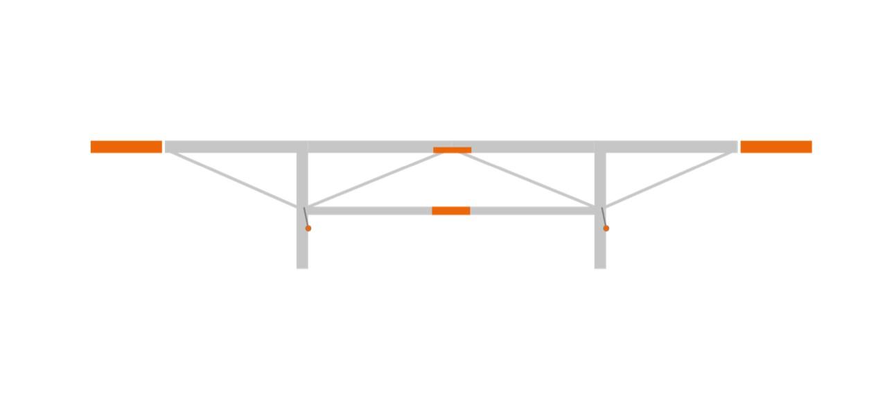 F2 bővítmény csomag 2 x 0.5 m