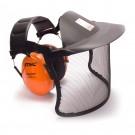 Hallásvédő rostéllyal